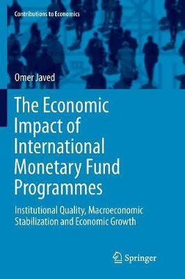 The Economic Impact of International Monetary Fund Programmes by Omer Javed image
