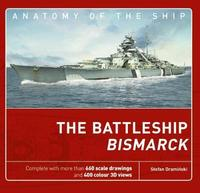 The Battleship Bismarck by Stefan Draminski