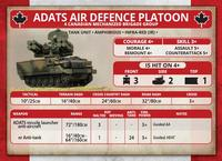 Team Yankee: Canadian ADATS Air Defence Platoon image