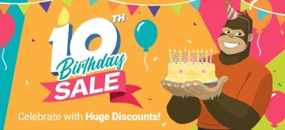 10th Birthday Sale