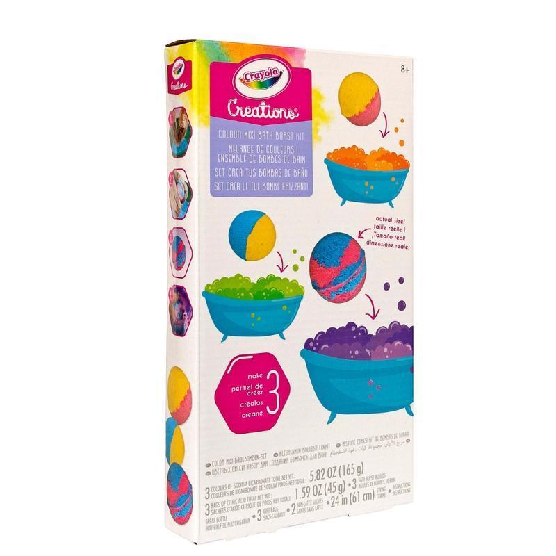 Crayola Creations - Colour Mix Bath Burst Set image