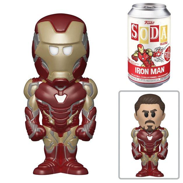 Marvel: Iron Man - Soda Vinyl Figure + Collector Can
