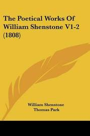 The Poetical Works Of William Shenstone V1-2 (1808) by William Shenstone image
