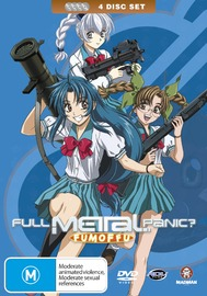 Full Metal Panic? Fumoffu - Complete Collection on DVD image