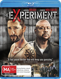 The Experiment on Blu-ray