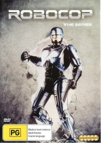 Robocop The Series (5 Discs) on DVD
