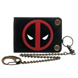 Marvel Deadpool Bifold Snap Chain Wallet