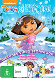 Dora The Explorer: Dora's Ice Skating Spectacular on DVD