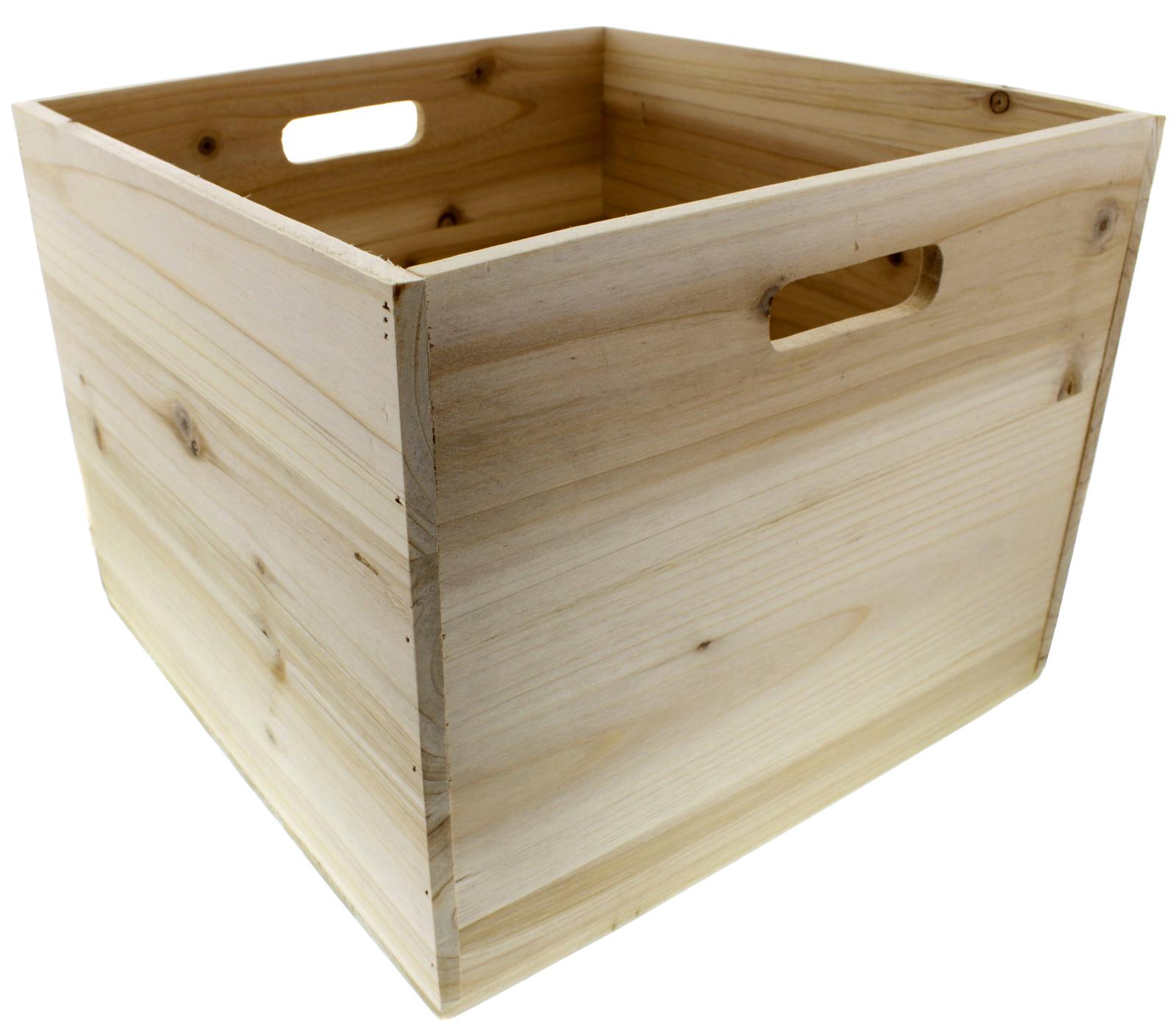Wooden Vinyl Crate image