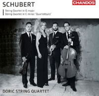 Franz Schubert: String Quartets by Doric String Quartet