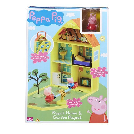 Peppa Pig: Peppa's Home & Garden Playset