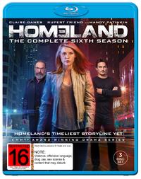 Homeland - Season 6 on Blu-ray