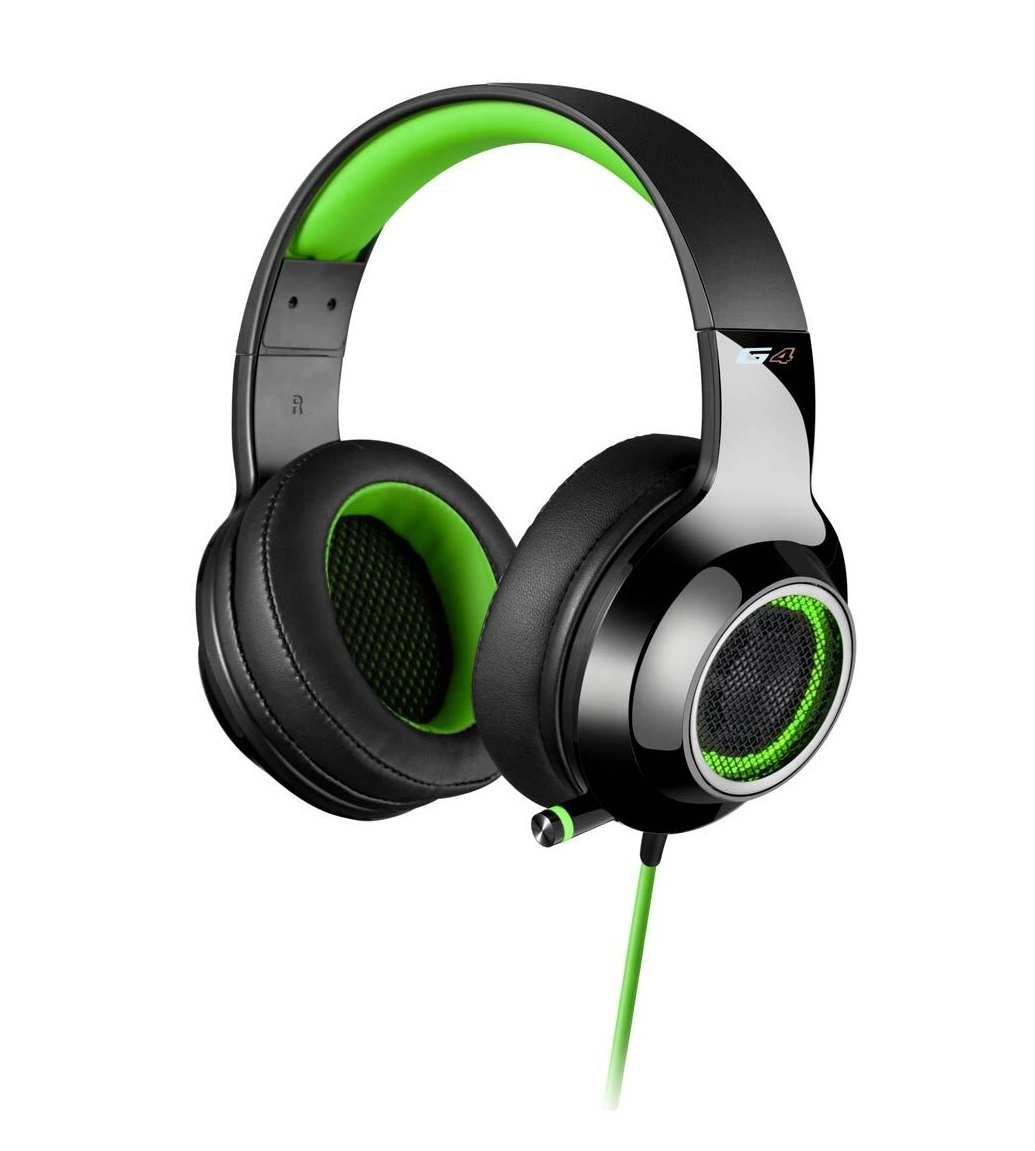 Edifier G4 Gaming Headset - Green (PC & PS4) for  image