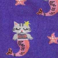 Women's - Purrmaid Knee High Socks image