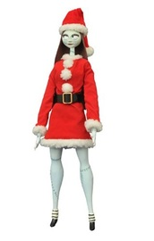 "NBX: Santa Sally - 14"" Coffin Doll"
