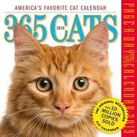 2019 365 Cats Colour Page-A-Day Calendar by Workman Publishing