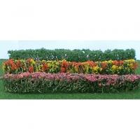 JTT: HO Scale Flower Hedges - 8 Pack