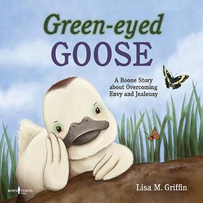 Green-Eyed Goose by Lisa Griffin