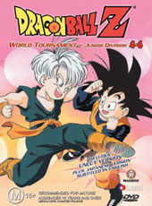 Dragon Ball Z 4.06 - World Tournament - Junior Division on DVD