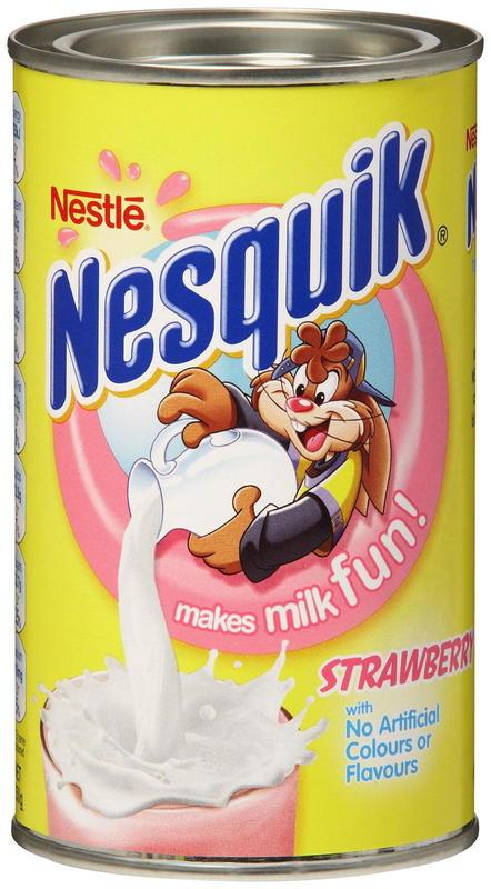 Nesquik: Strawberry - (12 x 250g)