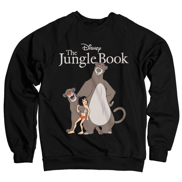 The Jungle Book Sweatshirt - Black (XX-Large)