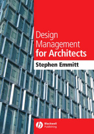 Design Management for Architects by Stephen Emmitt image