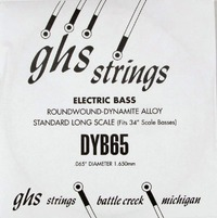 GHS 065 Dynamite Alloy Bass Boomers - Electric Bass Single String
