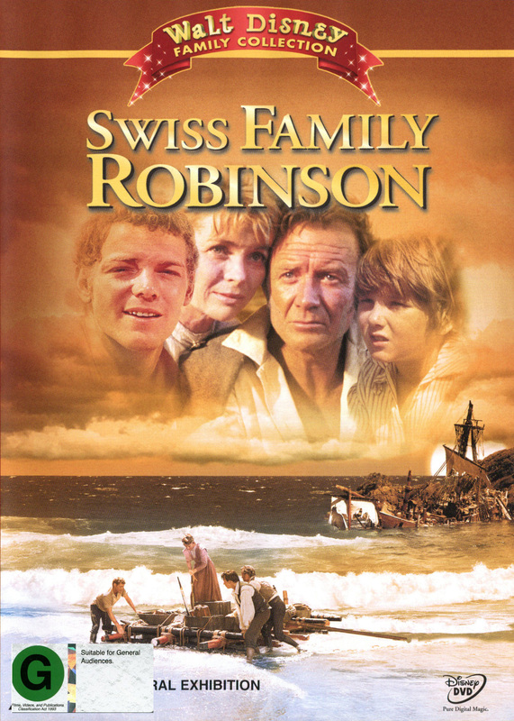 Swiss Family Robinson (1960) on DVD