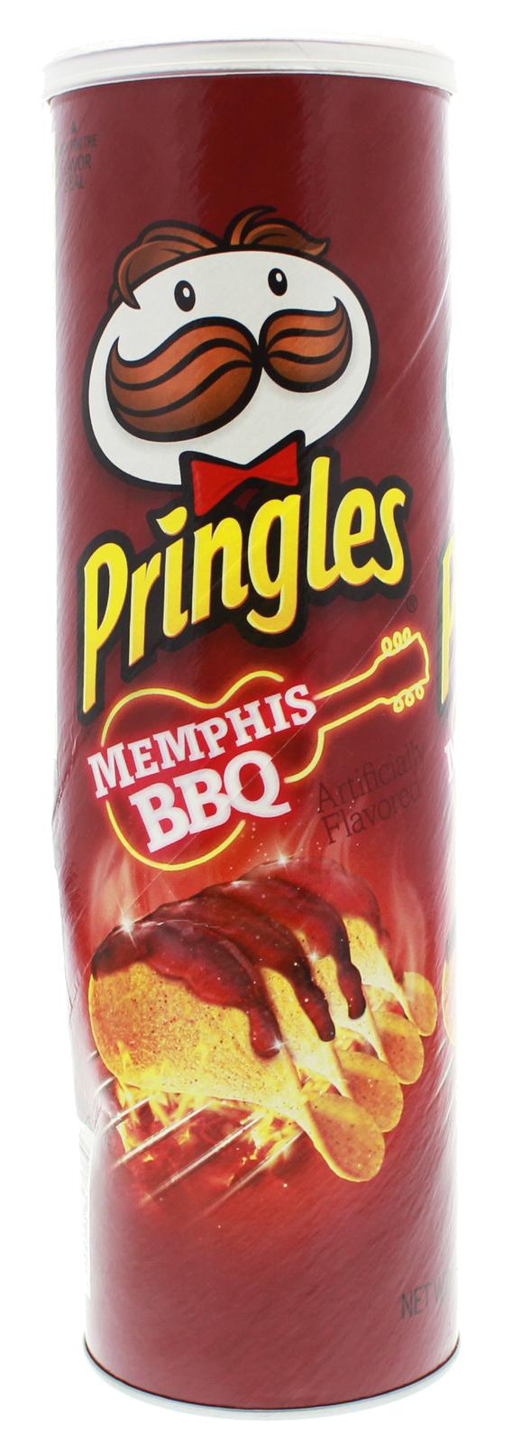 Pringles Super Stack Memphis BBQ flavour 158g image