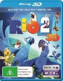 Rio 2 3D on Blu-ray, 3D Blu-ray, UV