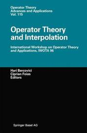 Operator Theory and Interpolation