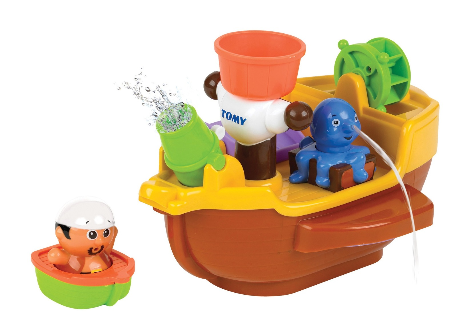 Pirate Bath Ship - Bath Toy | Toy | at Mighty Ape NZ