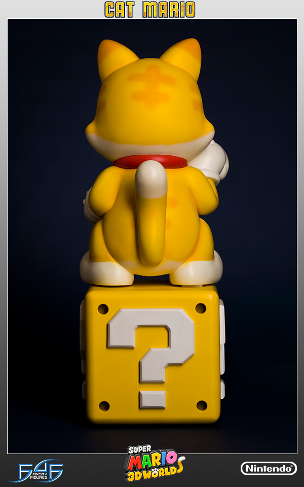 Super Mario - Cat Mario Statue image