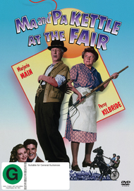 Ma & Pa Kettle At The Fair on DVD