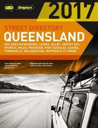Queensland Street Directory 21st ed by UBD / Gregory's