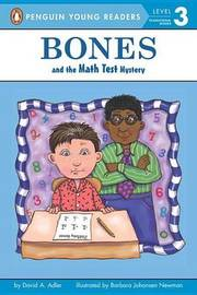 Bones and the Math Test Mystery by David A Adler image