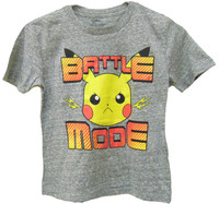 Pokemon Battle Mode T Shirt (Size 5/6) image