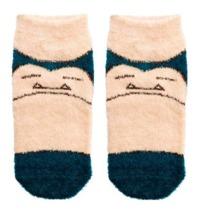 Pokemon: Mokkomoko Snorlax - Ladies Socks