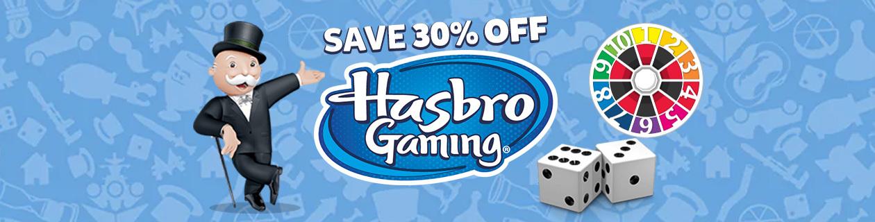 Hasbro games promo