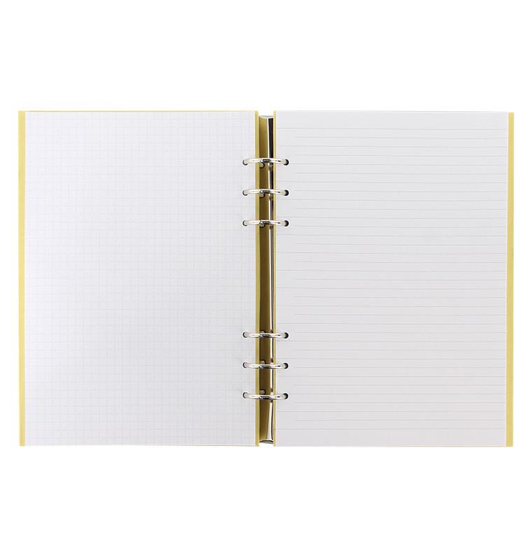 Filofax - A5 Pastels Clipbook - Lemon image