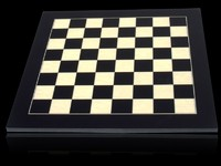 Dal Rossi: 50cm Chess Board - (Black/Erable)