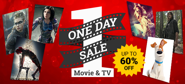 Movies & TV One Day Sale!