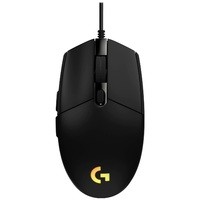 Logitech G203 LIGHTSYNC RGB Gaming Mouse (Black) for PC image