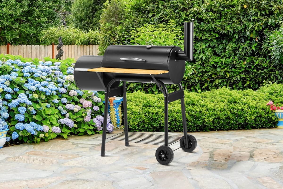 Cookmaster Charcoal Smoker Grill BBQ image