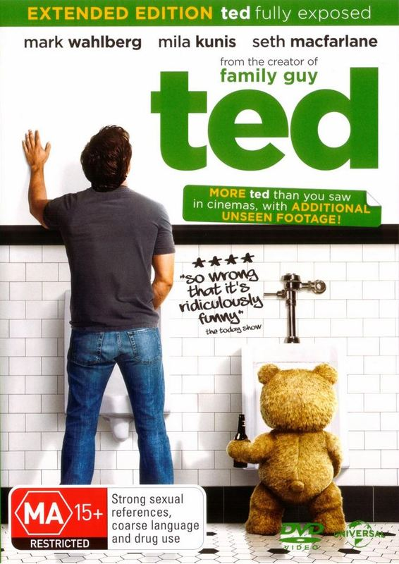 Ted on DVD