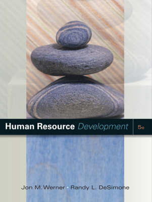 Human Resource Development by Jon M Werner image
