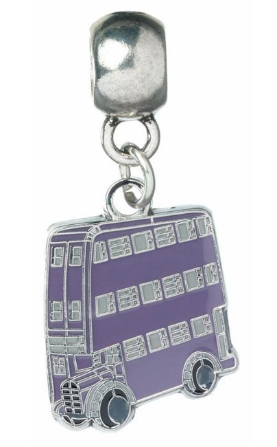 Harry Potter Charm - Knight Bus (silver plated)