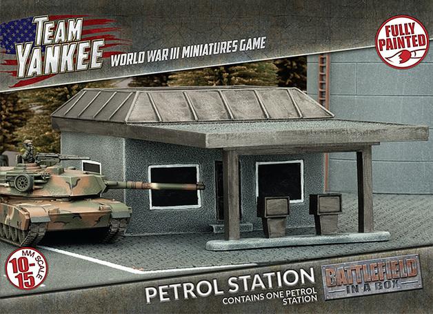 Flames of War: Petrol Station