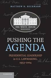 Pushing the Agenda by Matthew N. Beckmann image