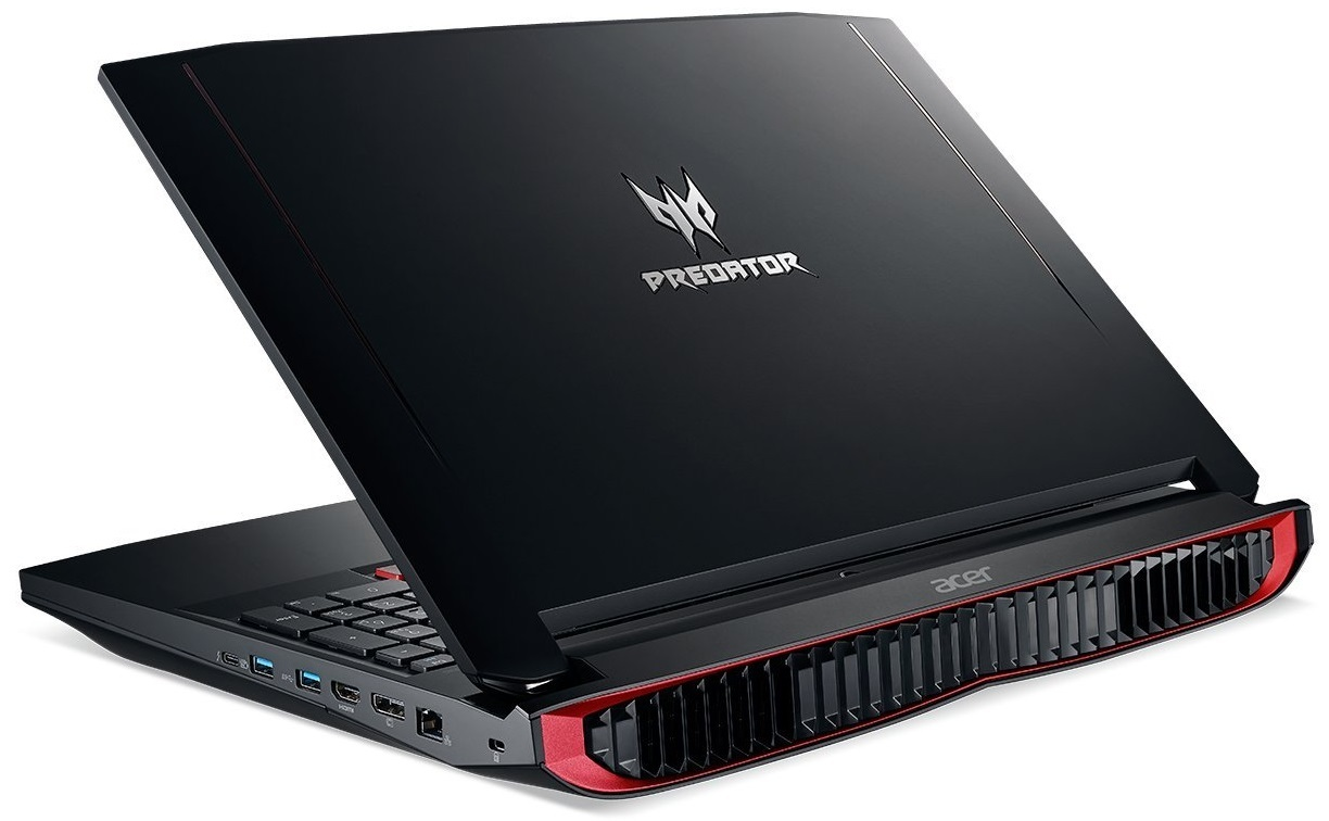"Acer Predator 17 X GX-792-76GY 17.3"" Gaming Laptop Intel Core i7-7820HQ, 64GB RAM, GTX 1080 8GB image"
